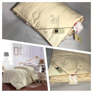 купить Одеяло бамбук с лавандой Кремовый