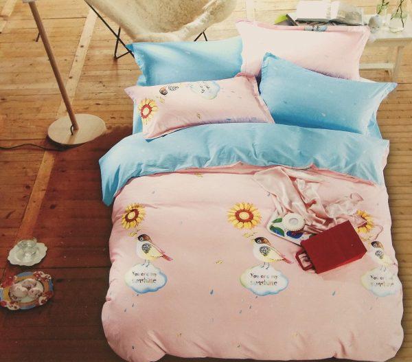 купить Постельное белье Сатин Люкс 40S 1615 Розовый фото