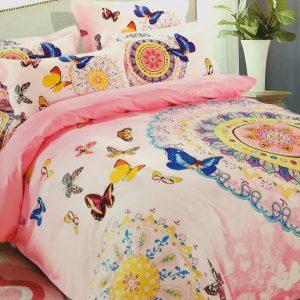 купить Постельное белье Сатин Люкс 40S 1620 Розовый фото