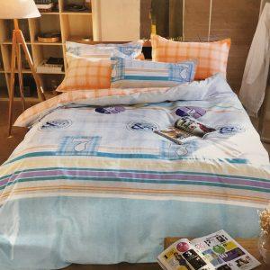 купить Постельное белье Сатин Люкс 40S 1604 Голубой фото