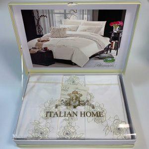 купить Постельное белье Italian Home Blumarine Krem Кремовый фото