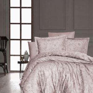 купить Постельное белье FIRST CHOICE ADVINA PUDRA Розовый фото