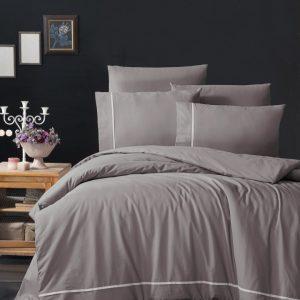 купить Постельное белье FIRST CHOICE ALISA LILAC Серый фото