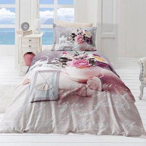 купить Постельное белье FIRST CHOICE ANDREA Розовый фото