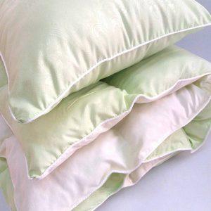 купить Детское одеяло и подушка салатовый Салатовый фото