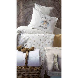 купить Детский набор в кроватку для младенцев Karaca Home - Cute Boy Bej 7 Предметов