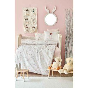 купить Детский набор в кроватку для младенцев Karaca Home - Doe Pembe 10 Предметов