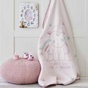 купить Детский плед в кроватку Karaca Home - Unicorn