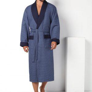 купить Мужской халат Nusa длинный без капюшона 15120-1 New