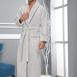 купить Мужской халат Nusa махра