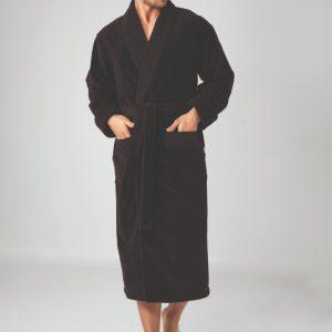 купить Мужской халат Nusa длинный без капюшона 2965 Коричневый