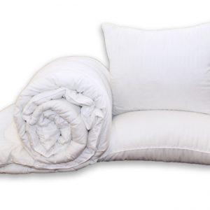купить Одеяло Eco-страйп и 2 подушки 50х70