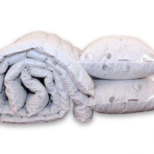 купить Одеяло лебяжий пух Cotton и 2 подушки 70х70