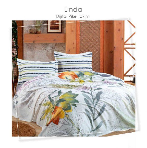 купить Постельное белье Dantela Vita PIKE LINDA Серый фото