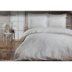 купить Постельное белье Maison Dor - MIRABELLA DANTELLA CREAM Белый фото 4