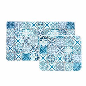 купить Набор ковриков Karaca Home - Blue Patch