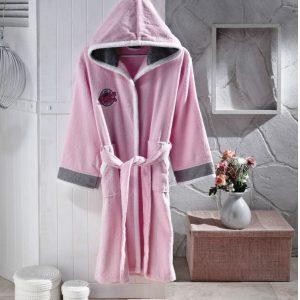купить Детский халат Altinbasak для Девочек Pacific pink