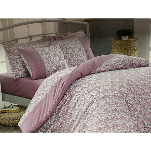 купить Постельное белье Maison Dor PENSEE DARK ROSE Розовый фото
