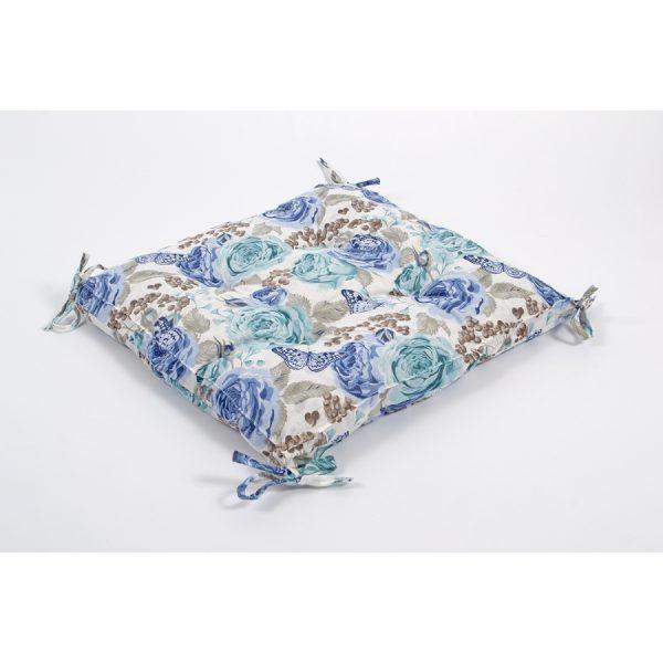 купить Подушка на стул Lotus - Dora с Завязками