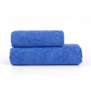 купить Полотенце Iris Home - Жаккард Palace Blue