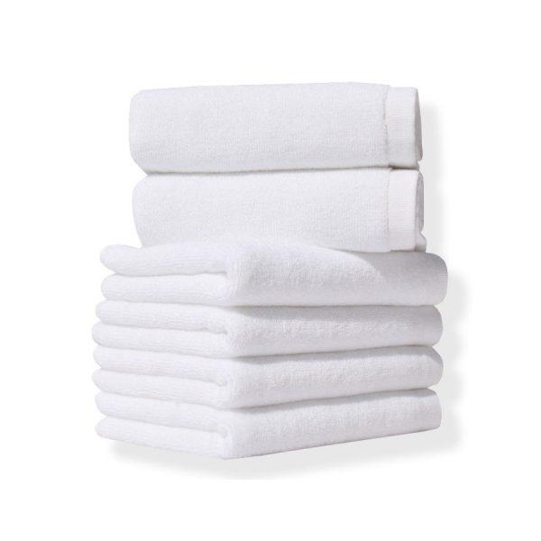 купить Полотенце Lotus Отель 450 г/м 20/2 Белый