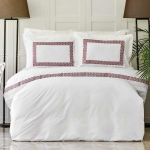 купить Постельное белье Karaca Home Ранфорс - Alyssa Gul Kurusu Белый фото