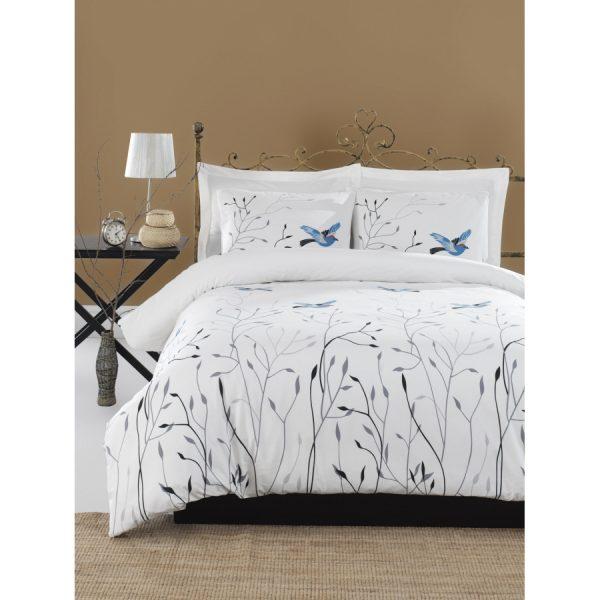 купить Постельное белье Lotus Home Perfect Ranforce - Birds Белый фото