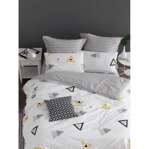 купить Постельное белье Lotus Home Perfect Ranforce - Erios Серый фото