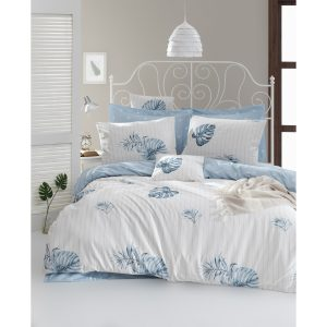 купить Постельное белье Lotus Home Perfect Ranforce - Finny Голубой фото