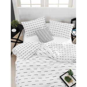 купить Постельное белье Lotus Home Perfect Ranforce - Lace Белый фото