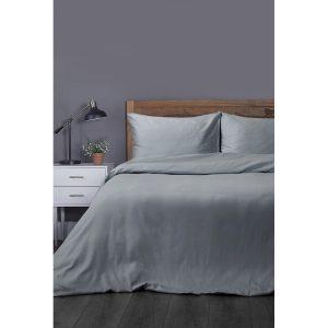 купить Постельное белье Lotus Отель - Сатин Классик серый Серый фото
