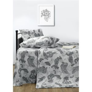 купить Постельное белье Lotus Ranforce - Great grey Серый фото