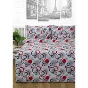 купить Постельное белье Lotus Ranforce - Pery grey Серый фото