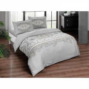 купить Постельное белье TAC Сатин - Dalida Gri V03 Серый фото