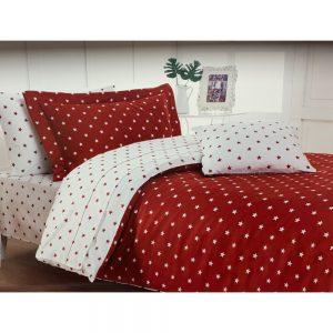 купить Постельное белье Maison Dor STARS RED Красный фото