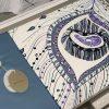 купить Постельное белье 3D Cатин - Dantela Vita VALENCIA Фиолетовый фото 98695