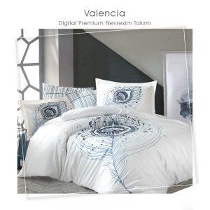 купить Постельное белье 3D Cатин - Dantela Vita VALENCIA Фиолетовый фото