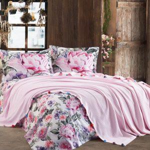 купить Постельное белье Dantela Vita VIOLET PEMBE Розовый фото