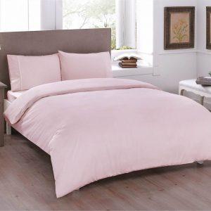 купить Постельное белье TAC Basic Light Pink Розовый фото