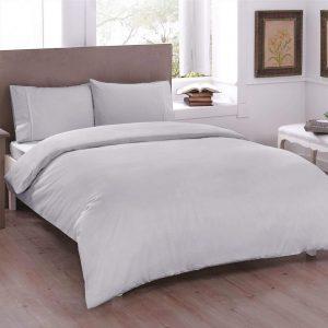 купить Постельное белье TAC Basic Gray Серый фото