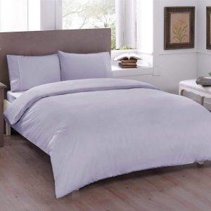 купить Постельное белье TAC Basic Lilac Сиреневый фото
