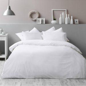 купить Постельное белье TAC Basic White Белый фото