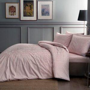 купить Постельное белье TAC Fabian Pink Розовый фото