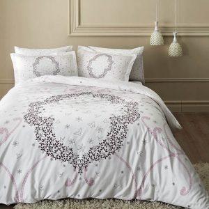 купить Светящееся постельное белье ТАС Molly Lilac Серый фото