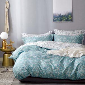 купить Постельное белье Bella Villa Сатин B-0286 Голубой фото