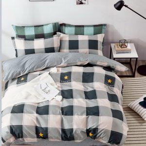 купить Постельное белье Bella Villa Сатин B-0289 Серый фото