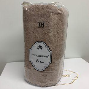 купить Простынь на резинке с наволочками TIVOLYO HOME MAHRA KAHVE