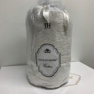 купить Простынь на резинке с наволочками TIVOLYO HOME MAHRA BEYAZ