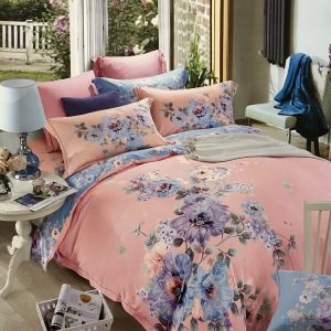 купить Постельное белье Тенсел кашемир 08624 Розовый фото
