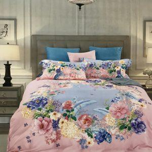 купить Постельное белье Тенсел кашемир 08689 Розовый фото